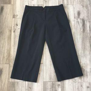 BCBGMaxAzria Collin Black Capri Dress Work Pants 4